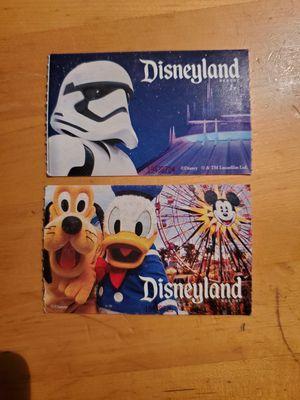Disneyland Park hopper tickets, 2 qty for Sale in Gilbert, AZ