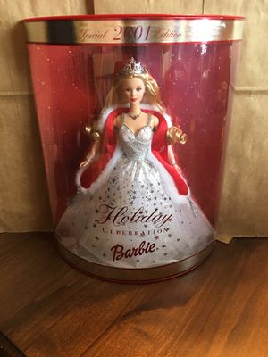 Brand new in box~2001 Holiday Celebration Barbie for Sale in Washington, DC