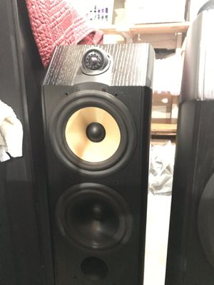 B&W 5 channel surround sound speakers for Sale in Oceanside, CA