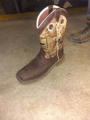 Size 13 Justin steel toe boot for Sale in Tulsa, OK