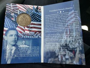 Obama coin collectible for Sale in Manassas, VA