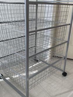 Grey Organizer / Shelf Cart for Sale in Walnut,  CA