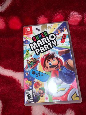 Súper Mario Party { Nintendo Switch } for Sale in Tacoma, WA