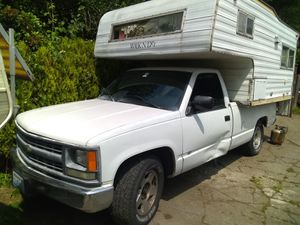 Truck and camper combo for Sale in Snohomish, WA