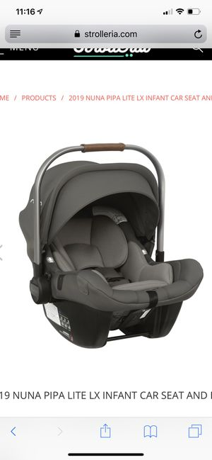 Nuna PIPA Lite LX Infant Car Seat in Granite for Sale in Scottsdale, AZ
