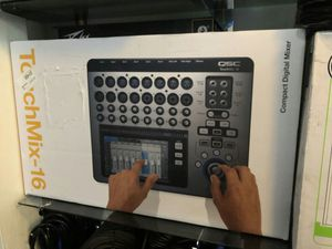 Qsc touchmix-16 on sale today message us for the best deals in la today for Sale in Downey, CA