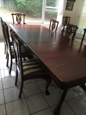 Mahogany dining table set for Sale in Atlanta, GA