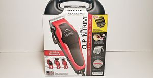 Wahl 2-In-1 Clip 'N Trim 20 PIECE KIT Haircutting Clipper &Trimmer for Sale in Miami, FL