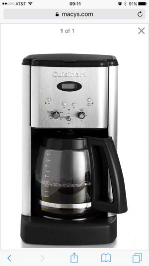 Cuisinart coffee maker for Sale in West Los Angeles, CA