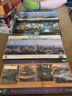 Panoramic puzzles 4 for Sale in Puyallup, WA