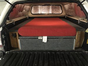 Toyota Tacoma Camper Bed Build for Sale in Seattle, WA