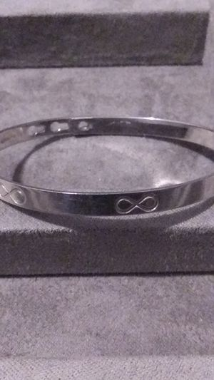 Sterling Silver Infinity Bracelet for Sale in Fort Worth, TX