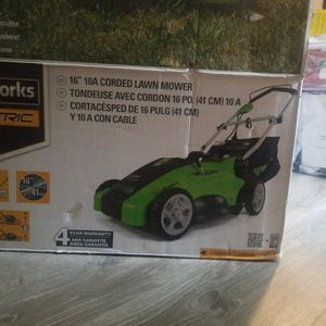 Greenworks Electric Mower for Sale in Humble, TX