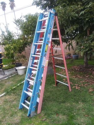 Werner fiber glass ladders for Sale in City of Industry, CA