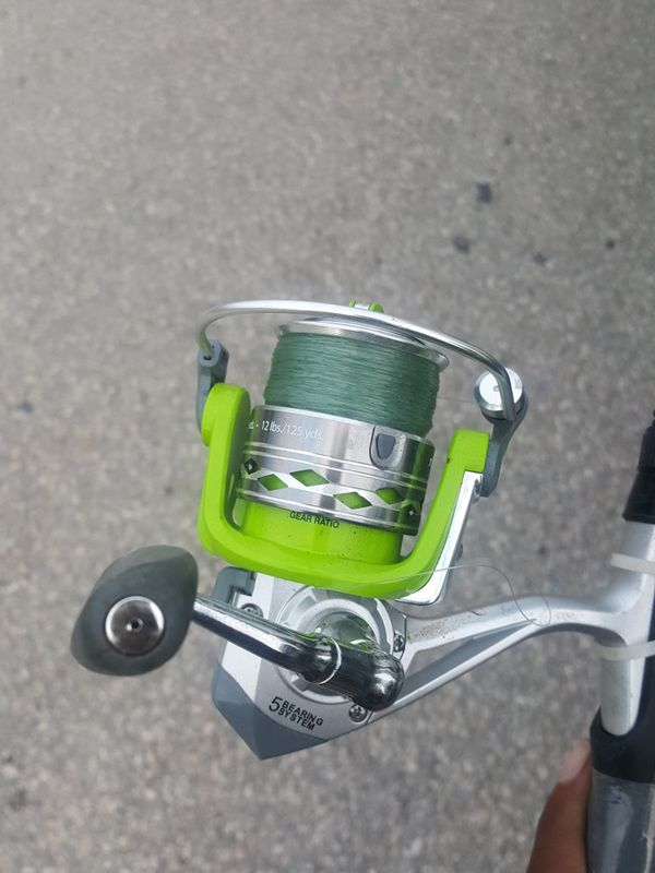 Tourney T2 fishing rod and real