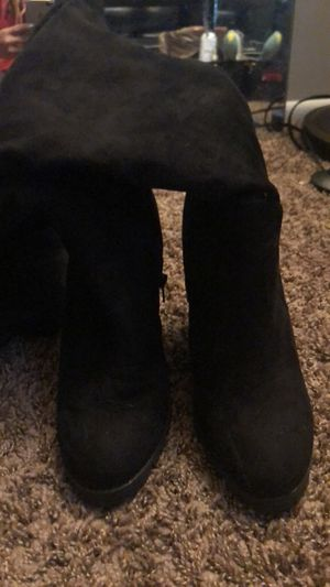 Thigh high heel boots for Sale in Taylorsville, UT