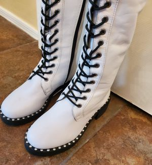 Ladies Thigh High Boots size 6.5 Jeffrey Campbell for Sale in Laveen Village, AZ