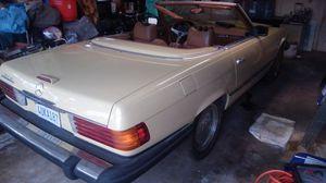 1979 450sl Mercedes Benz roadster convertible barn find needs fuel pump for Sale in Garden Grove, CA