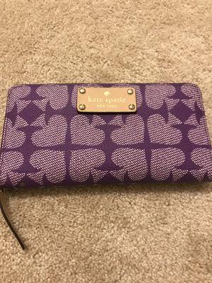 Kate spade purple wallet for Sale in Houston, TX