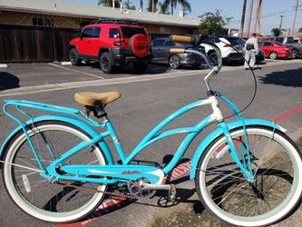 Fabulous Vibrant Turquoise Super Deluxe Electra 3i Aluminum Beach Cruiser for Sale in HUNTINGTN BCH,  CA