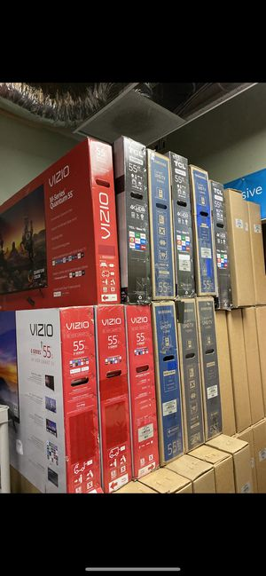HUGE TV SALE SMART 4K SAMSUNG VIZIO TCL ROKU TVS for Sale in Sun Valley, CA
