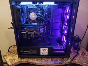 New Custom Gaming PC 9th gen i5 9600k, liquid cooled, 4000Mhz ram, 1tb Nvme ssd, for Sale in San Antonio, TX