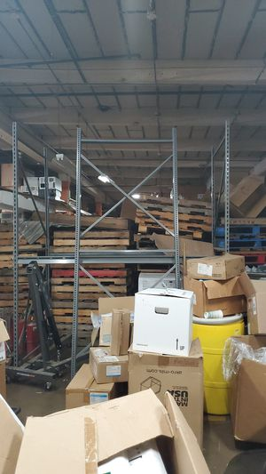 Pallet racking shelving 2 sections for Sale in St. Louis, MO