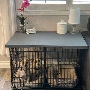 Custom Made Dog Crate/Kennel Table for Sale in Murrieta, CA