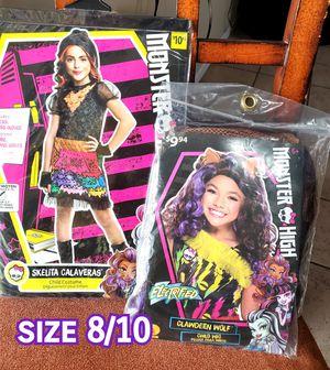 MONSTER HIGH GIRL COSTUME for Sale in Arlington, TX