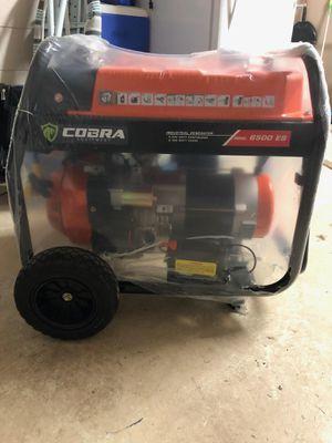 Cobra 6500 watt Generator for Sale in Lakeland, FL