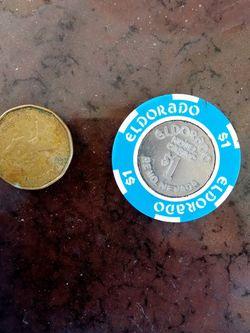 Eldorado Casino 1 Dollar Coin. for Sale in Carmichael,  CA