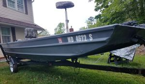 16 foot Bass Boat for Sale in Beltsville, MD