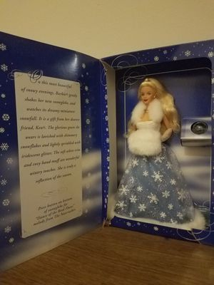 Special edition snow sensation barbie for Sale in Rockwall, TX