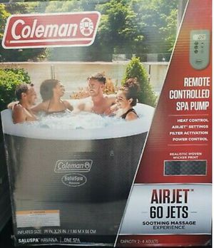 Coleman Inflatable Havana Hot Tub for Sale in Clermont, FL