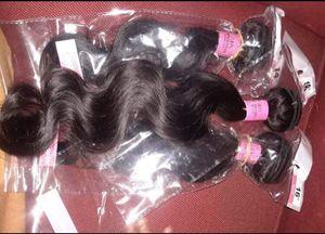 100% Virgin Human Hair Brazilian Body Wave Set for Sale in Washington, DC