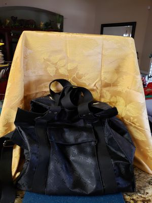 Black heavy duty tote bag for Sale in Visalia, CA
