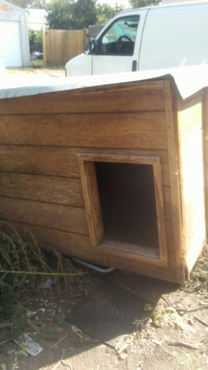Dog. House with heater for Sale in Denver, CO