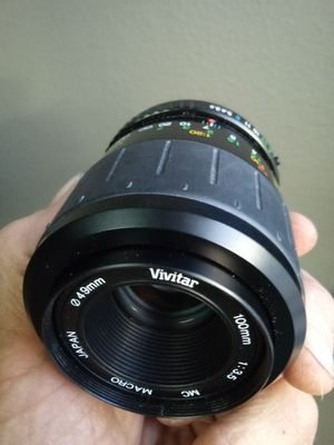 Vivitar 100mm f3.5 Macro in Pentax K-mount for Sale in Chino, CA