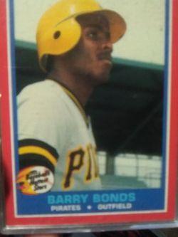 1987 Fleer Barry Bonds Hottest Stars Rookie !!! for Sale in Yakima,  WA
