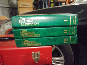 The Learning Companion hardcover books-3 for Sale in Murfreesboro, TN