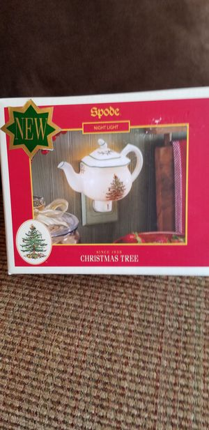 Spode Christmas night light for Sale in Federal Way, WA