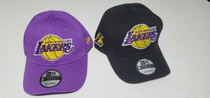 Lakers hats new $25 ea. for Sale in Los Angeles, CA