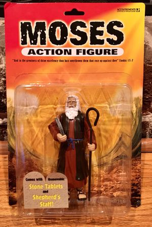 Moses Action Figure - Unopened for Sale in Lilburn, GA