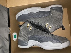 cool grey jordan 12s for Sale in Manassas, VA
