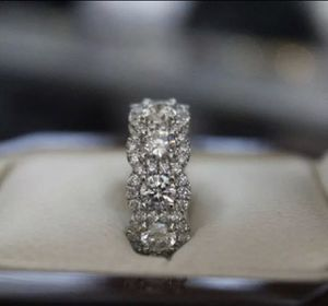 925 Stamped Sterling Silver Cubic Zirconia Engagement Ring Sz6 for Sale in New York, NY