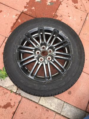 5 lug single wheel and tire for Sale in Temple City, CA