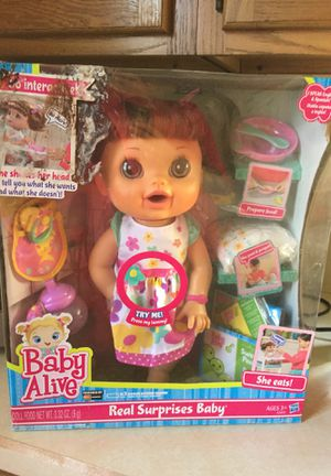 Baby Live original doll never opened for Sale for sale  Yonkers, NY