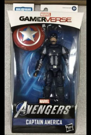 Marvel Legends Gamerverse Avengers Captain America Collectible Action Figure Toy for Sale in Chicago, IL