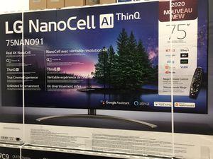 """75"""" 4k lg smart led nano cell tv for Sale in Norwalk, CA"""