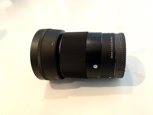 Sigma 30mm f/1.4 DC DN Contemporary Lens for Sony E-Mount for Sale in Las Vegas, NV